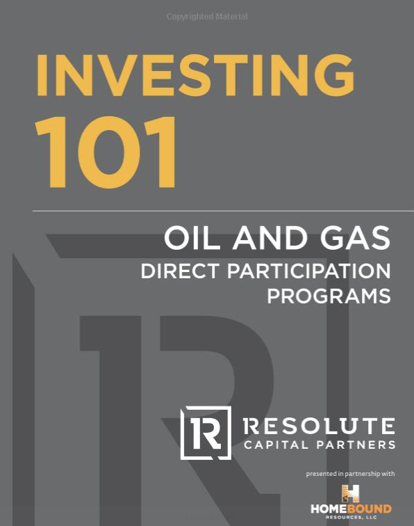 Investing 101: Oil and Gas Direct Participation Programs